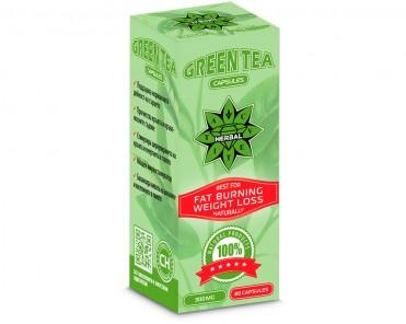 Зелен чай капсули